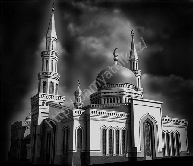 Рисунки мечетей для памятников